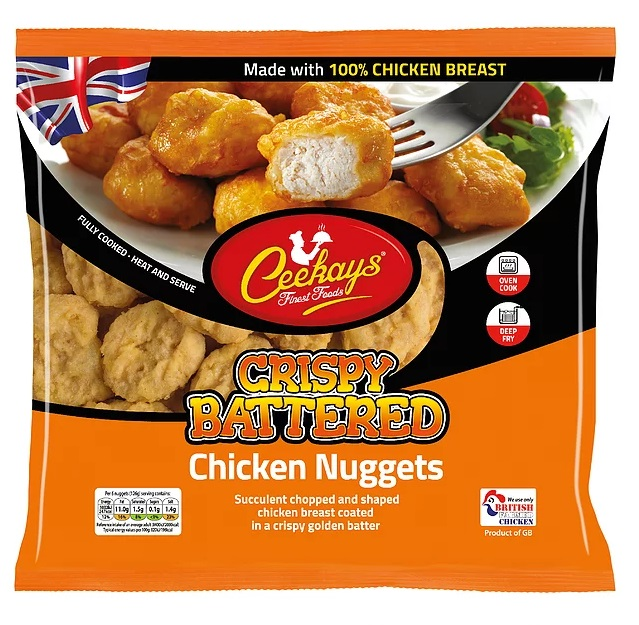 Ceekays Crispy Battered Chicken Nuggets