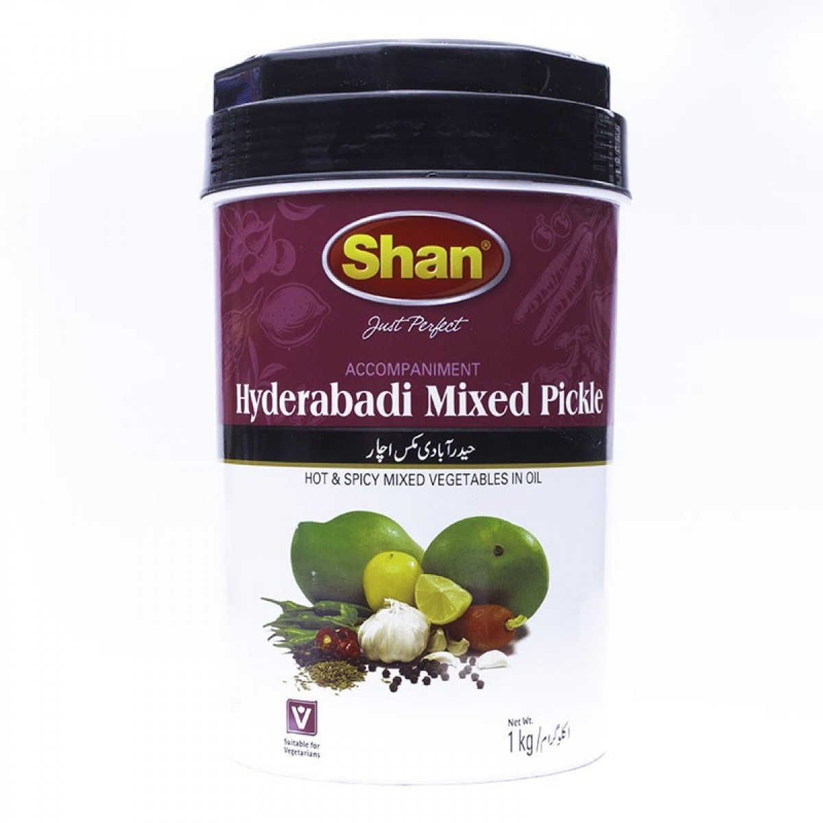Shan Pickle Hyderabadi Mix Jar 1kg